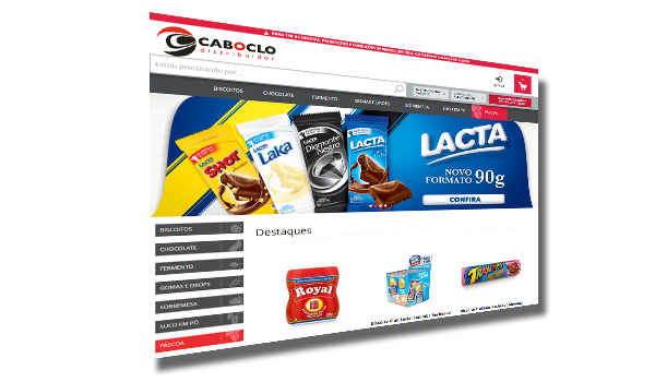 Caboclo Distribuidor - E-commerce